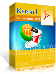 Kernel for Lotus Notes to PDF - acquistalo dal rivenditore ufficiale italiano TOOLWARE.it
